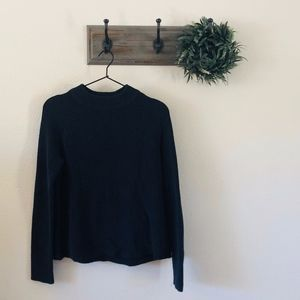 H&M Navy Knit Sweater S
